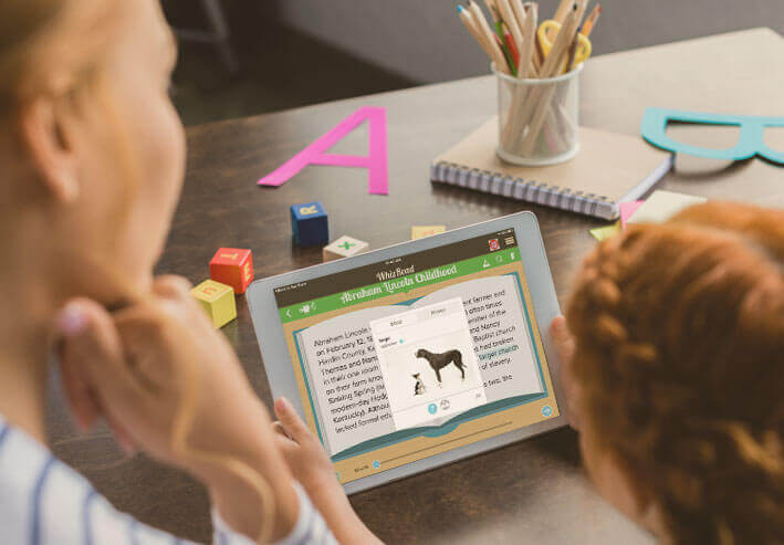 Parents can create custom content for their children to read